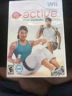 EA Sports Active: More Workouts (Nintendo Wii, 2009) Factory