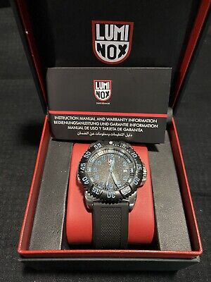Luminox Navy Seal Colormark 3150 Series, Blue Hands and Numerals