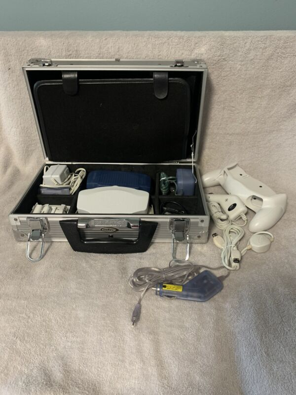 Steel Intec Carry Case With Various Intec Accessories for Gameboy Advance