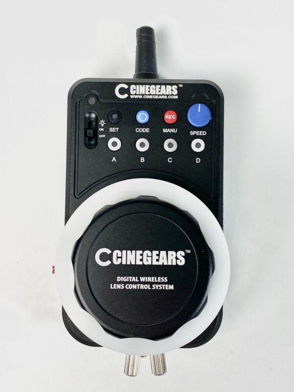 CINEGEARS Single Axis Wireless Follow Focus Express Plus Kit