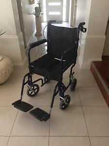 Foldable Wheelchair good as new Chelsea Kingston Area Preview
