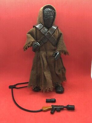 "Star Wars Action Collection JAWA 6"" with Light Up Eyes 1997 Loose Complete"
