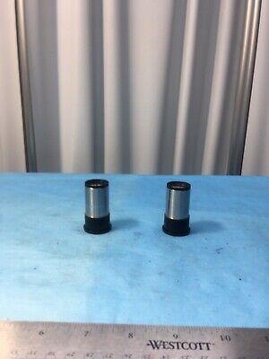 Lot Of 2 New Carl Zeiss C6.3x Microscope Eyepiece Lens Laboratory Lab Equipment