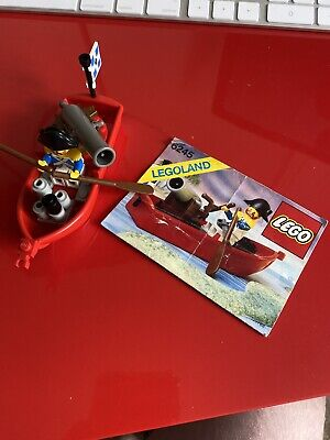 Vintage Lego Pirate 6245 Harbour Sentry Complete With Instructions