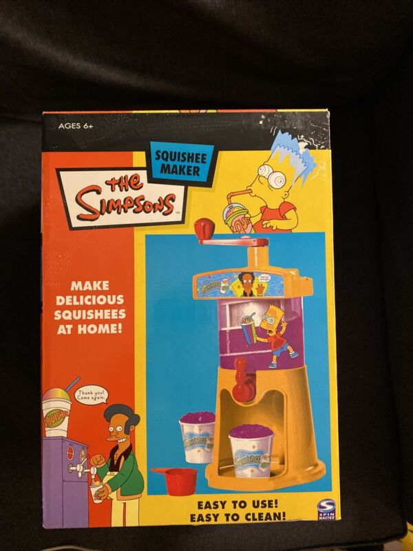 Vintage The Simpsons Squishee Maker Sealed Brand New Very Rare