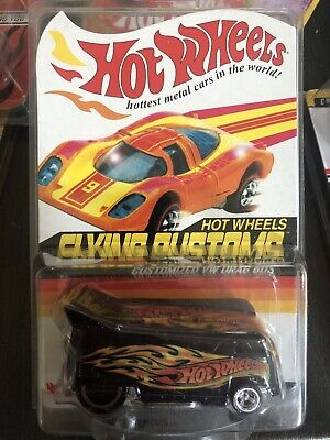 Hot Wheels Redline Club RLC Flying Customs #1/4 Customized VW Drag Bus 10,500