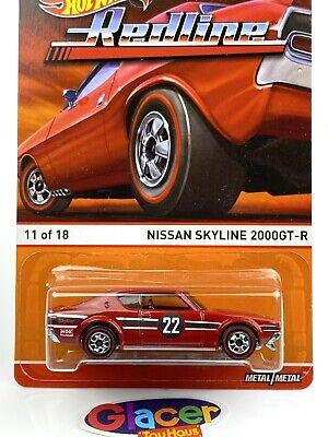 2015 Hot Wheels Heritage - REDLINE - NISSAN SKYLINE 2000GT-R Red