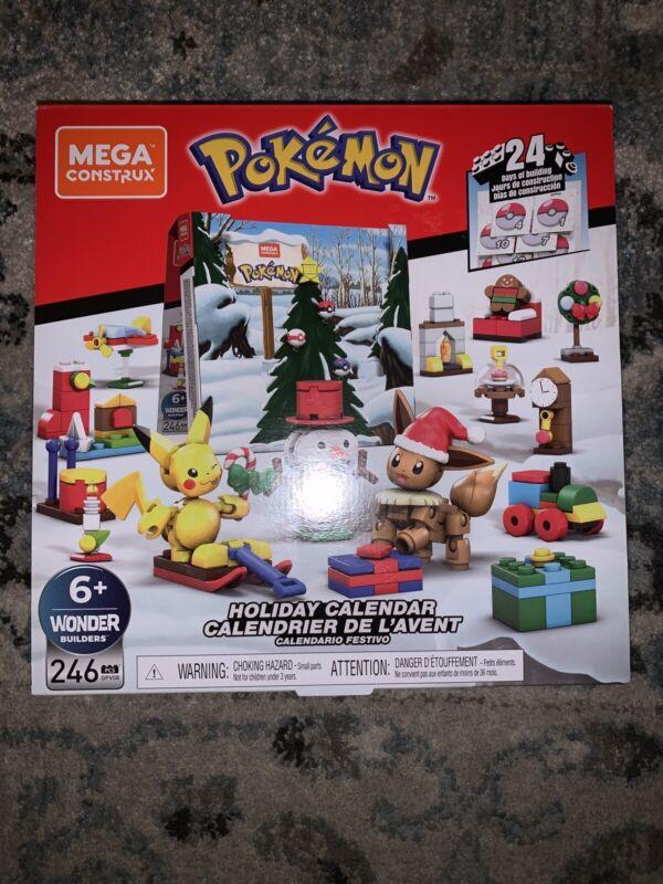NEW Mega Construx Pokemon Holiday Calendar Advent Calendar Building Set Toy B