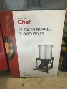 Master chef turkey fryer, no pot