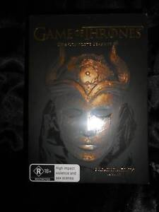 GAME OF THRONES THE COMPLETE SEASON 1-5 25 DISC SET - SEALED Valentine Lake Macquarie Area Preview