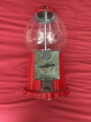 Gumball Machine Sweet Dispenser Vintage Red