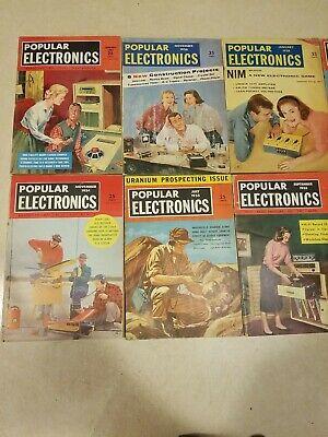 popular electronics magazine collectibles vintage