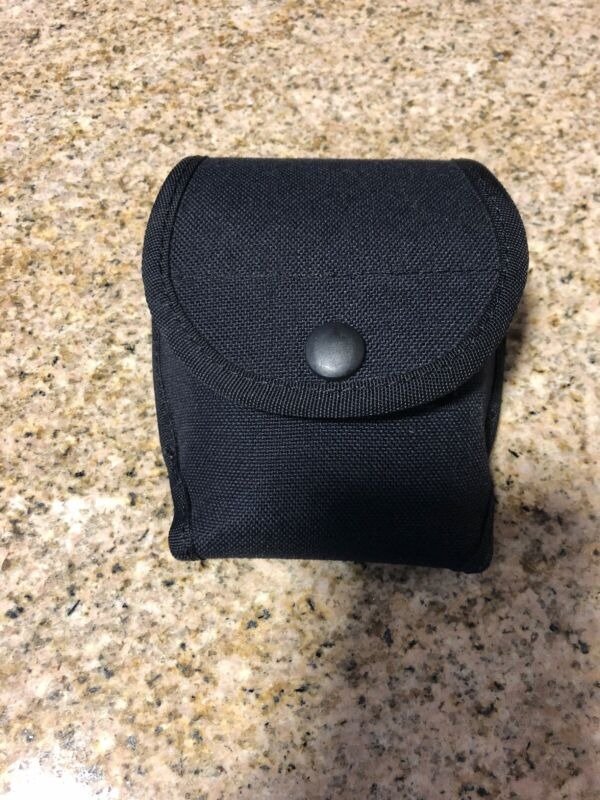 Uncle Mikes Double Cuff Case, Nylon. Black. Item Number 88571