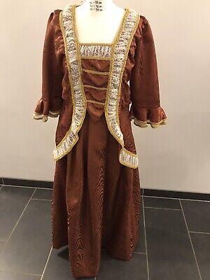 Damenkostüm Historisch Braun Theater Musical Oper Kleid Kostümfundus