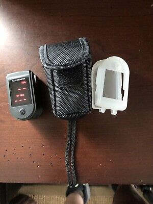 Zacurate Pro Series 500dl Fingertip Pulse Oximeter Blood Oxygen Monitor Case