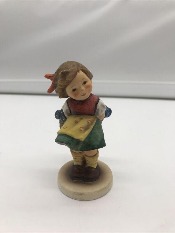 "Hummel Goebel 377 Figurine Germany 5"" Bashful"