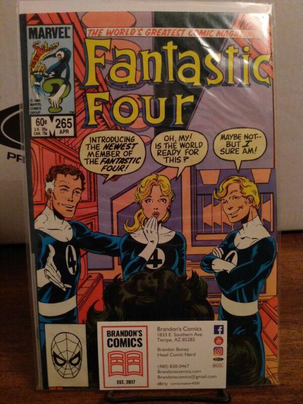 FANTASTIC FOUR # 265 MARVEL COMICS 1984 JOHN BYRNE SHE-HULK