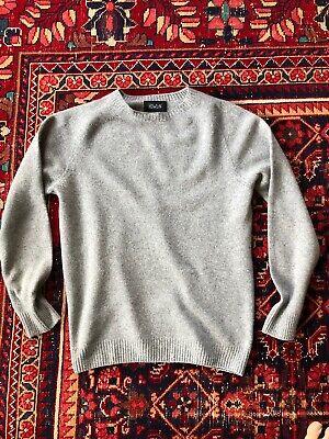 Men's Howlin' Crewneck Sweater 70% Merino Wool / 30% Cashmere Size Medium M
