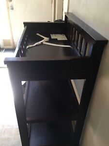 Crib, change table and dresser