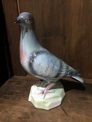 JEMA Holland Pottery Ceramic Lustre Pigeon 9