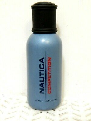 Nautica COMPETITION After Shave 2.4 oz NO BOX Men