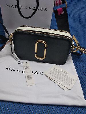 Damen Tasche Marc Jacobs Snapshot Small Camera - schwarz multi - Neu & Original