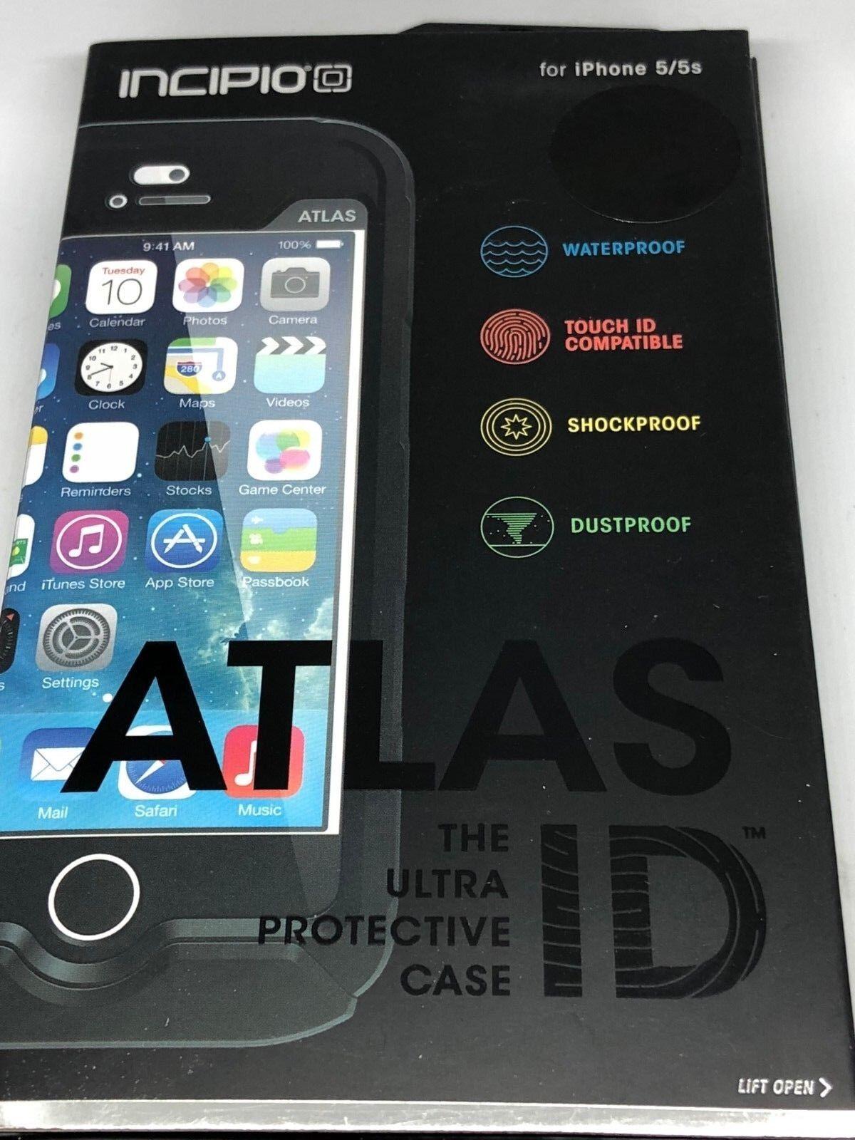 Incipio Atlas ID Waterproof Fingerprint Touch ID Case iPhone