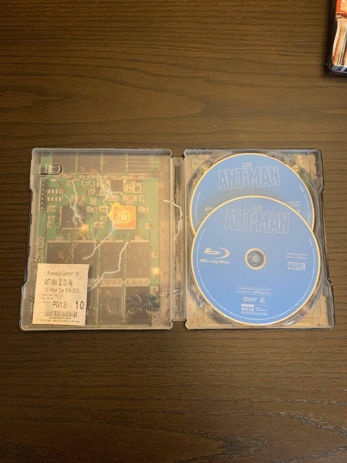 Ant-Man 2-Disc Set Best Buy Exclusive Steelbook 3D Blu-ray Blu Ray - $44.99
