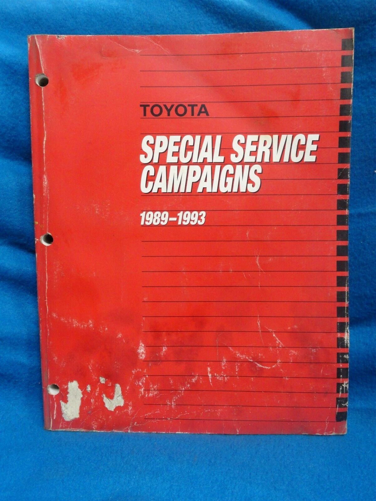 1989-1993 - Toyota ALL MODELS - FACTORY Special Service CAMPAIGNS - OEM ORIGINAL