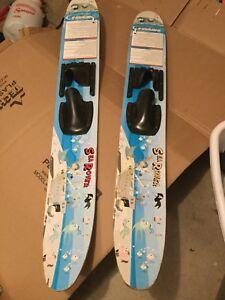 Kids water skis