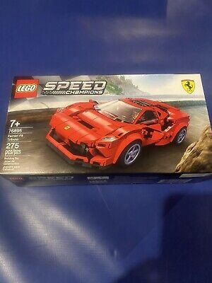 LEGO 76895 Speed Champions Ferrari F8 Tributo 275pcs New Sealed.