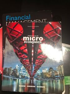 Micro economics study guide and textbook together for $55