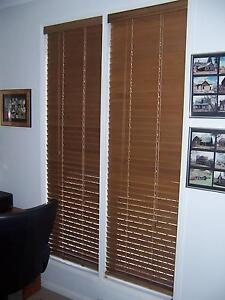 BLINDS TIMBER BASSWOOD VARIOUS SIZES Wellington Point Redland Area Preview