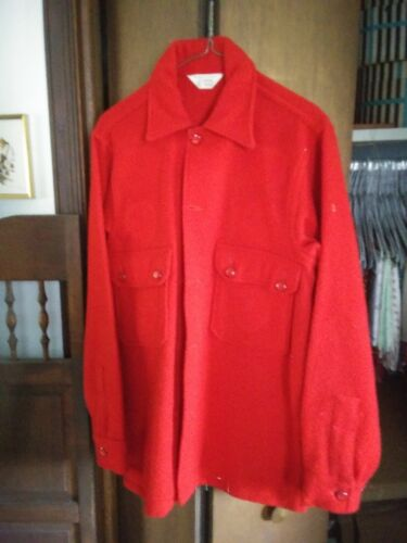 BSA Vintage Official Red Wool Jacket, size 38