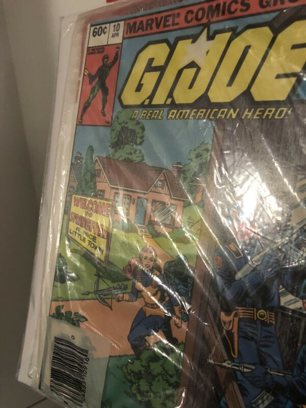 Marvel comics Sealed 3-pack W/ G.I. Joe #21 3rd Print GI joe third print variant