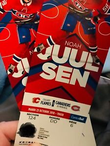 Tickets - Oct 23 - Flames at Habs