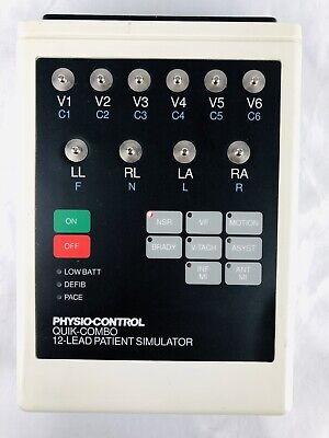Physio Control 806223-01 Quik-combo 12-lead Patient Simulator
