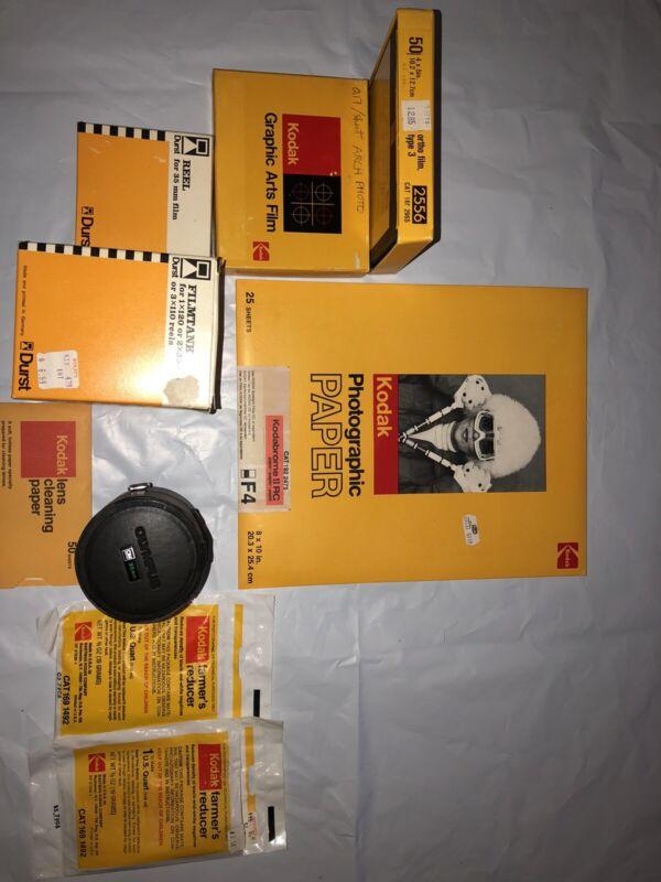 """Kodak Kodalith Ortho Film 4x5"""" Type 3 2556 Lot Of Vintage Kodak Look"""