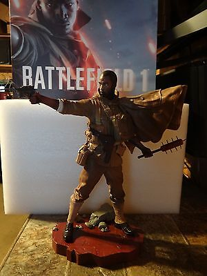 """Battlefield 1 Collector's Edition 14"""" Soldier Statue & Interchangeable Arms NEW"""