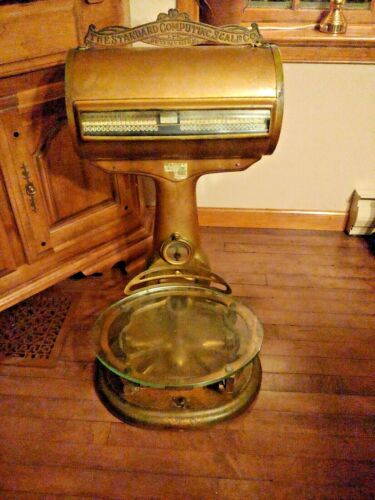 The Standard Computing Scale Co Antique/Vintage Scale - Original