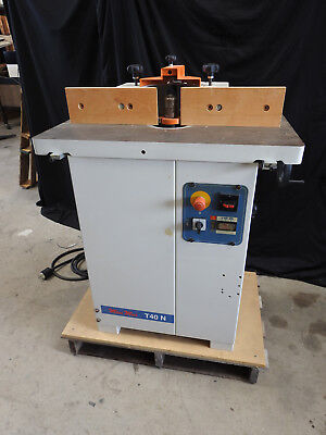 Scm Minimax T40n Vertical Tilting Spindle Shaper 2006 230v 1 Phase