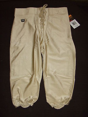 NEW Wilson WTF5637 Adult Mens Nylon Lustre Deluxe Football GAME Pants  12 COLORS
