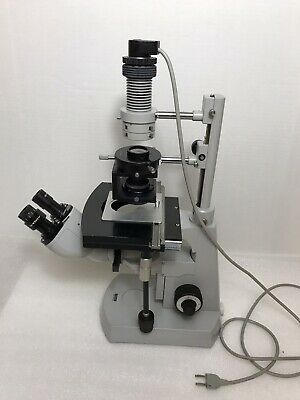 Zeiss Inverted Microscope Modulation Contrast Incomplete