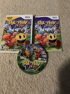 Nintendo Wii Game Pac-Man Party Complete