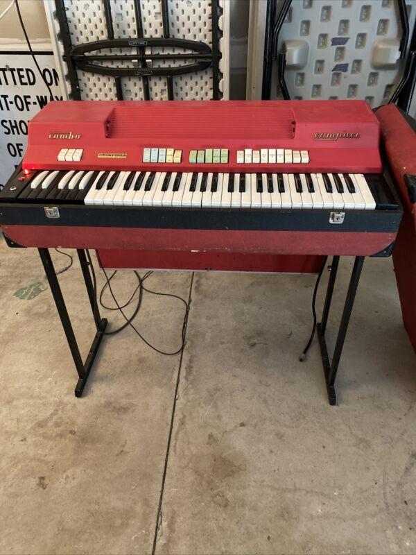 1966 Farfisa CC/23 Compact Keyboard / Organ No Reserve!