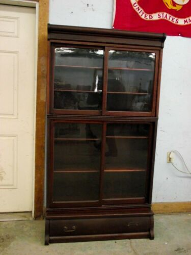 Antique Danner Mahogany barrister bookcase