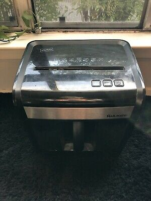 Staples Mailmate M7 Paper Shredder 12 Sheet Spl-txc12m7a Cross Cut 3s2