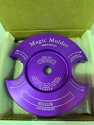 Magic Molder Head With 58 Bore X 6 Diameter - Made In The U.s.a.