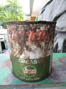 VINTAGE CASTROL 5 POUND GREASE TIN