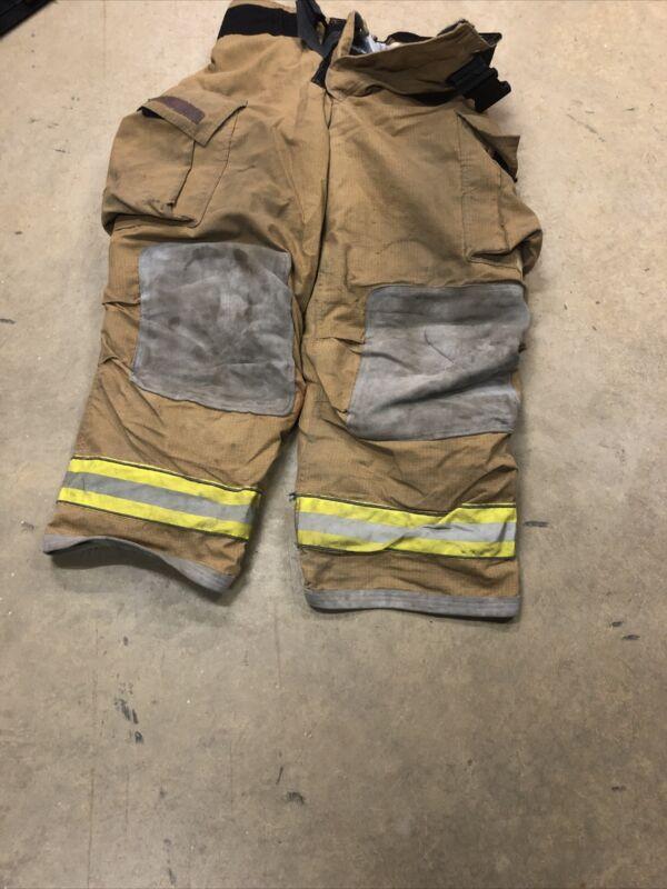 40x30 Globe Gxtreme Firefighter Pants Turnout Bunker Fire Gear w/ Liner